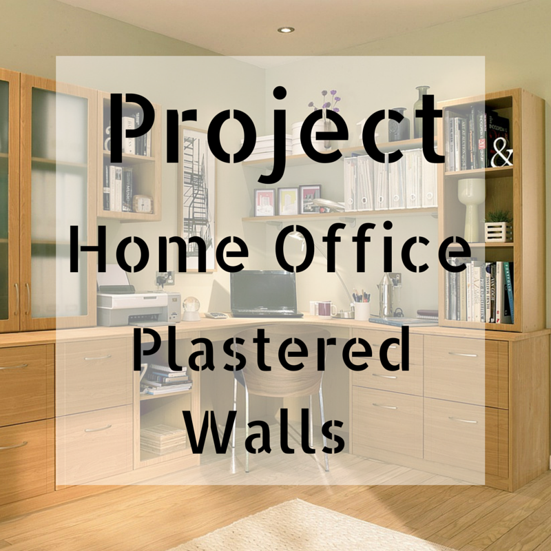 Project Home Office: Stripped Walls
