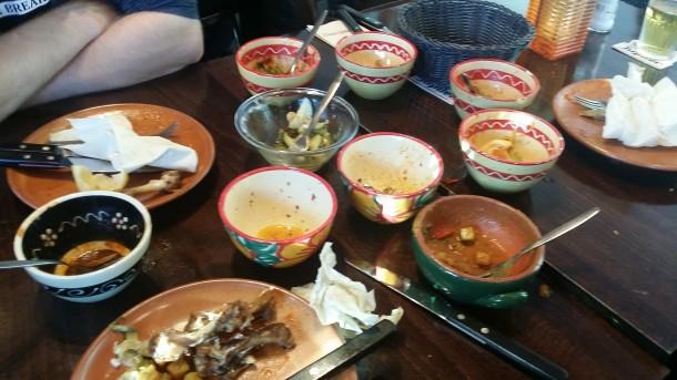 food after