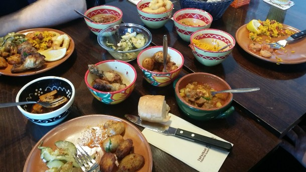 food before