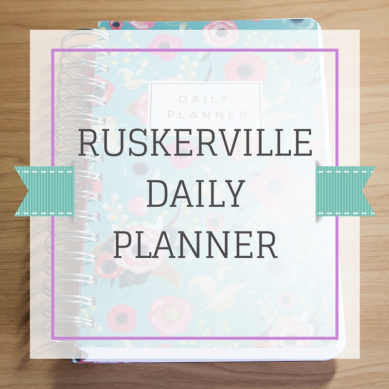 Planner Review: Ruskerville