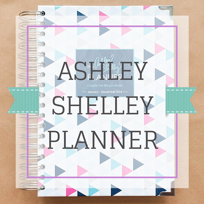 Planner Review: The Ashley Shelley Planner