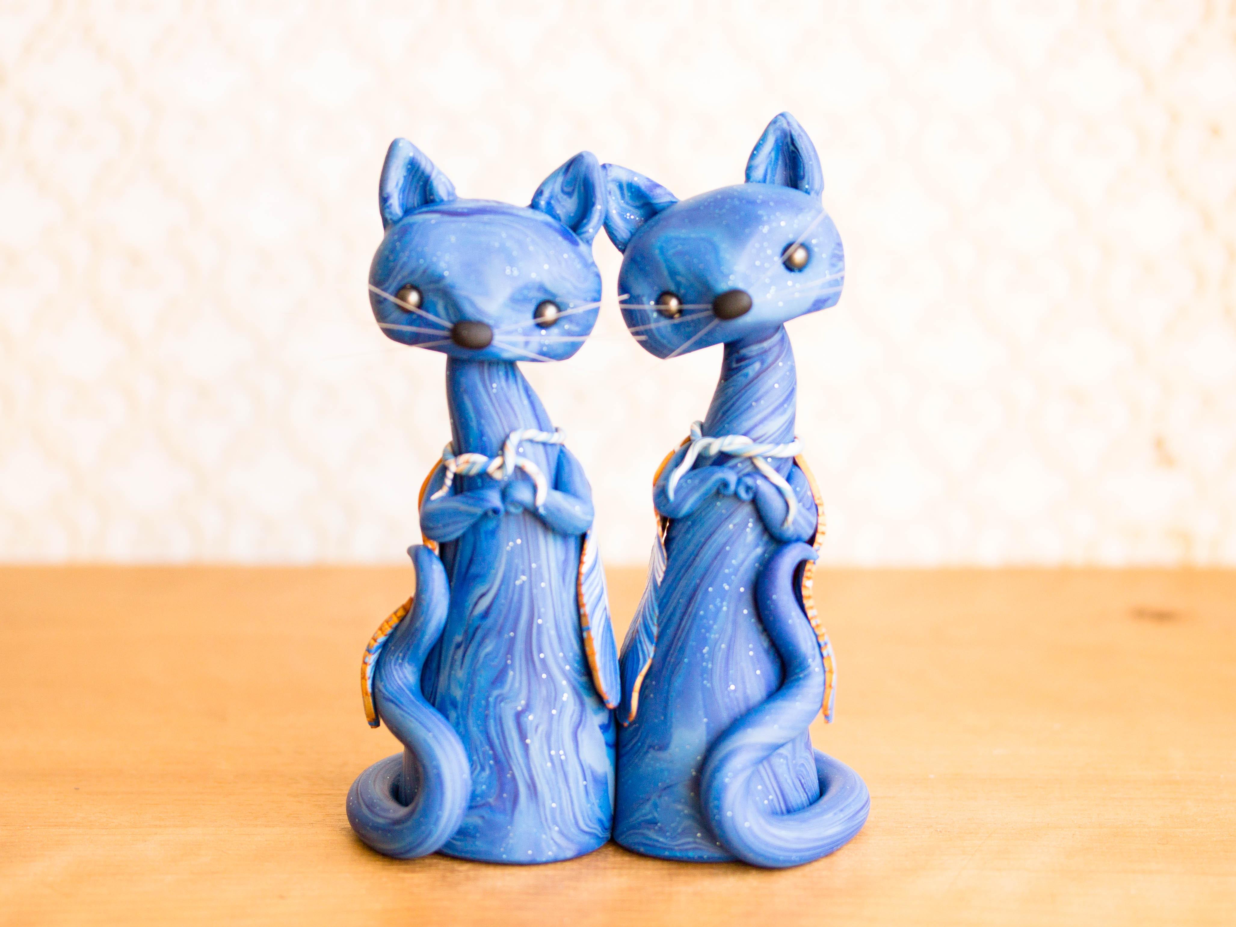 Freyja's Blue Cats