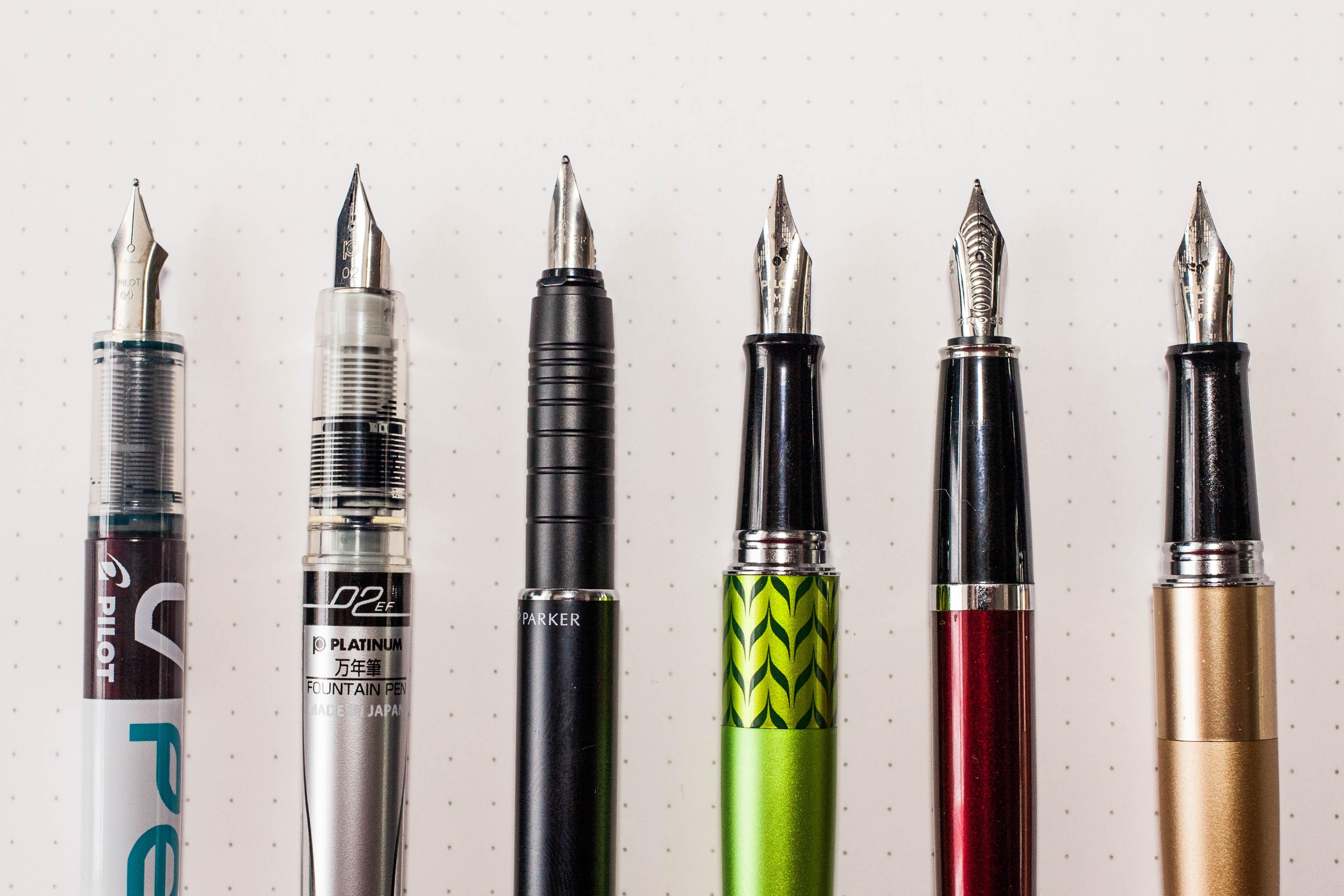 Fountain pens Galore