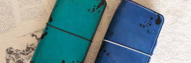 How to distress your traveler's notebook