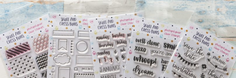 Skull and Cross Buns – Planner Stamps