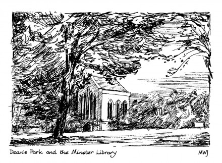 Deans-Park-and-Minster-Libary