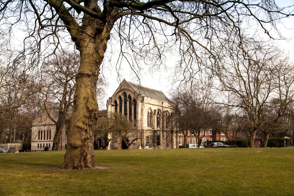 A Walk Around York: Dean's Park